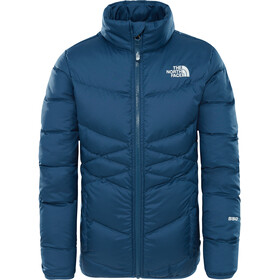 The North Face Andes Down Jacket Girls Blue Wing Teal